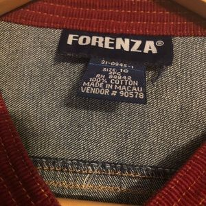 Forenza Jackets & Coats - Forenza Women's Denim Multi - Color Jacket Size 16